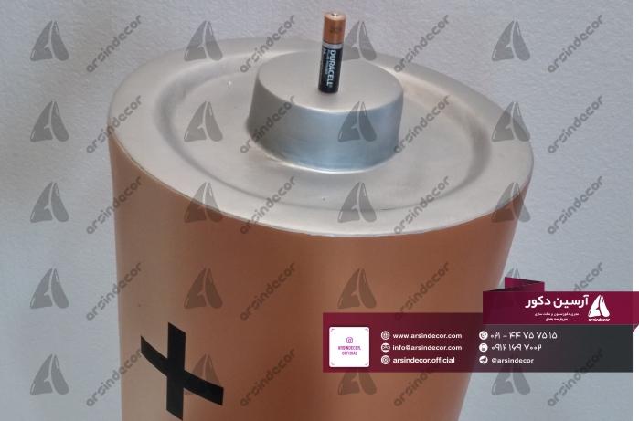 ماکت فایبرگلاس باتری