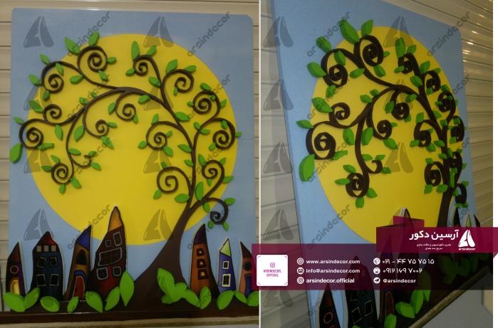 درخت دیواری دکوراتیو