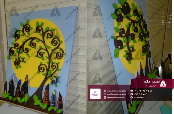 درخت دکوراتیو دیواری