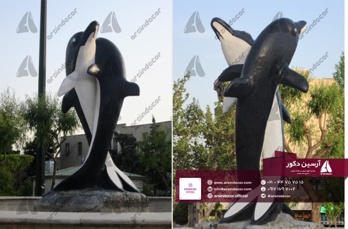 ماکت تبلیغاتی دلفین