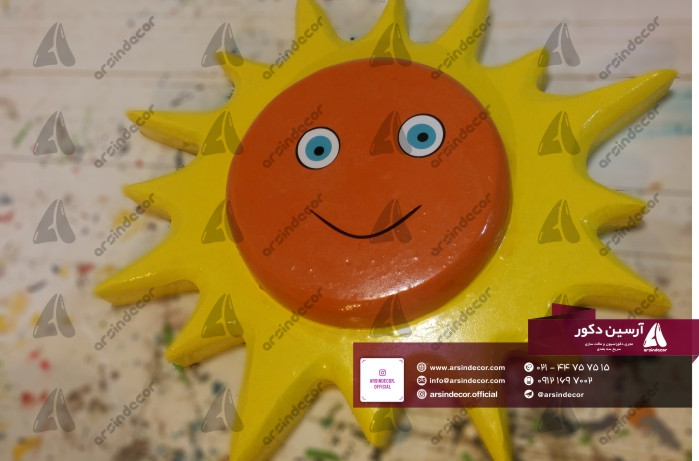 ماکت خورشید مهدکودک