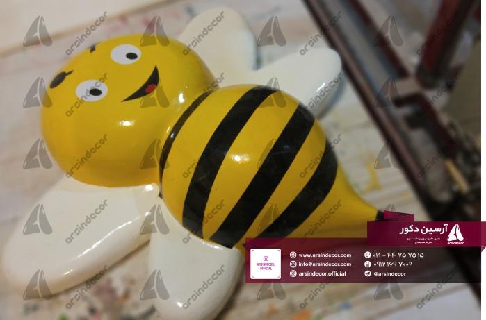 ماکت زنبور فایبر گلاس