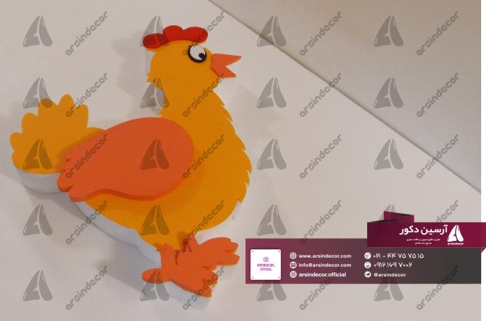 ماکت تبلیغاتی مرغ