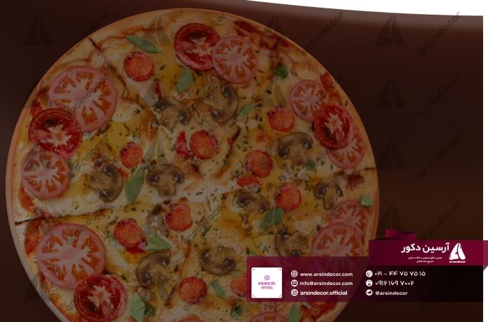 ماکت فایبر گلاس پیتزا