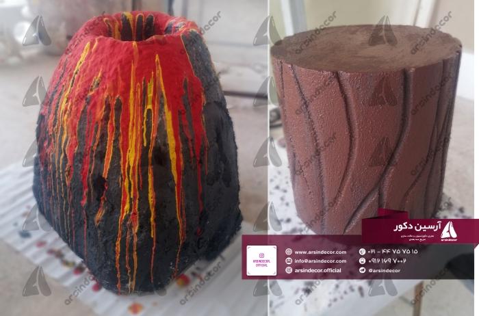 ماکت آتشفشان