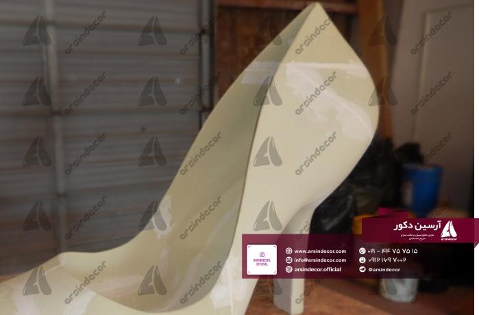 ماکت فایبرگلاس کفش