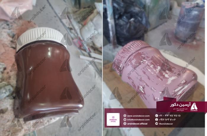 ماکت تبلیغاتی شیشه شکلات