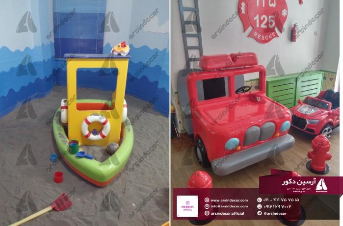 دیزاین داخلی خانه بازی