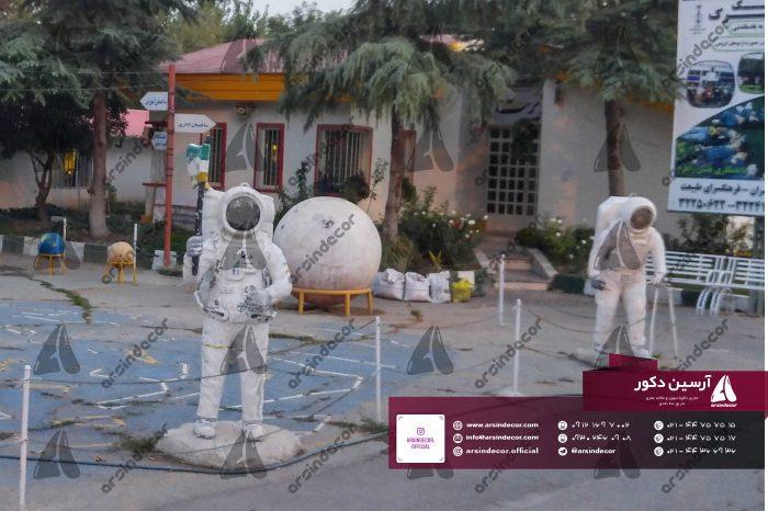 ماکت تبلیغاتی فضانورد