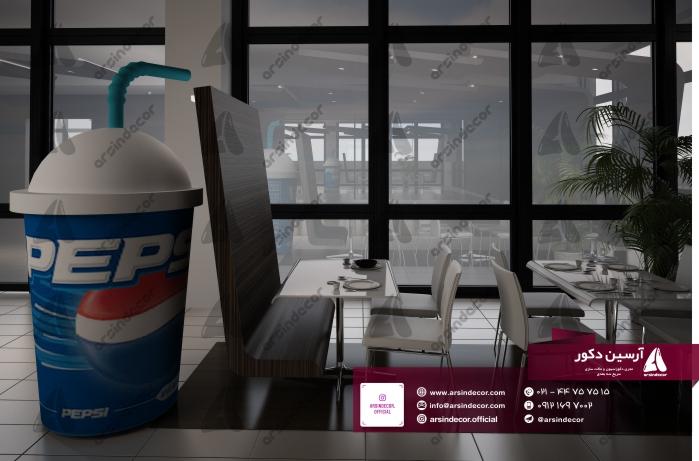 ماکت تبلیغاتی نوشیدنی