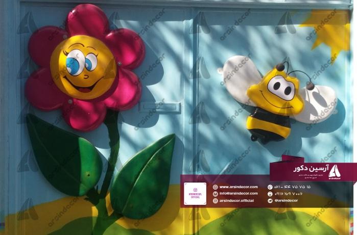 ماکت دیواری زنبور