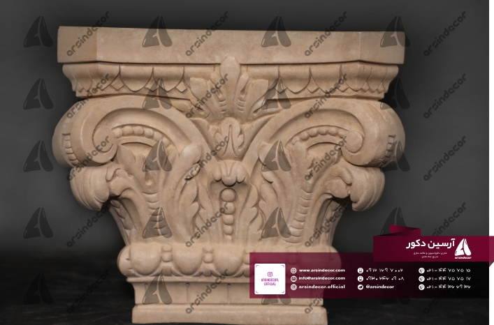 پایه ستون رومی فایبر گلاس