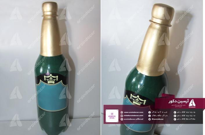 ماکت تبلیغاتی بطری ماءالشعیر