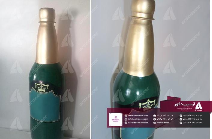 ماکت تبلیغاتی بطری نوشیدنی