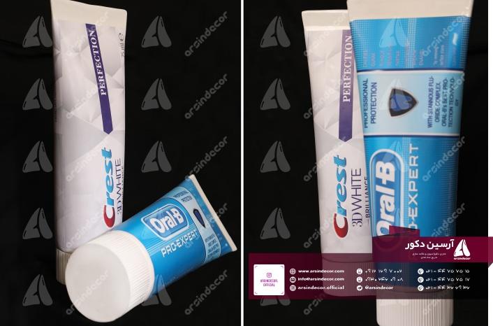 ماکت تبلیغاتی تیوپ خمیر دندان