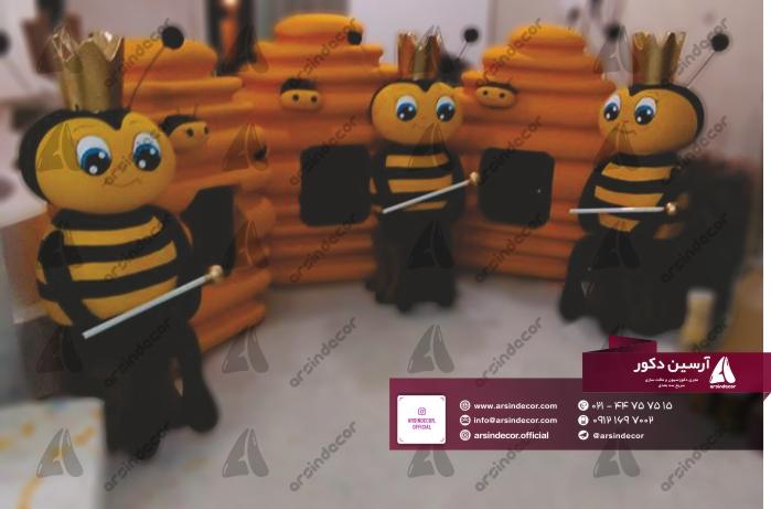 ماکت حجمی زنبور عسل و کندو