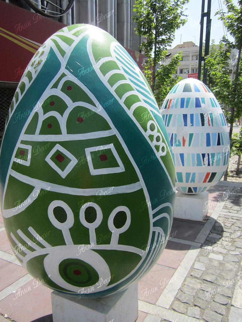 تخم مرغ فایبر گلاس