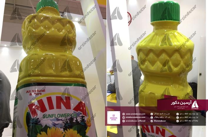 ماکت تبلیغاتی بطری
