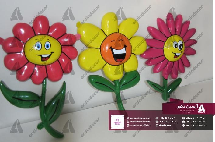 ماکت فایبر گلاس گل