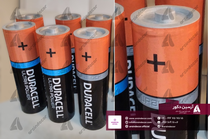 ماکت حجمی باتری دوراسل