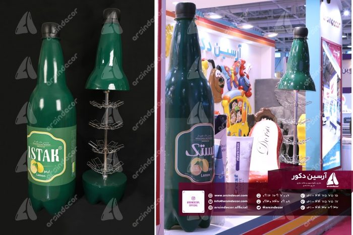 ماکت تبلیغاتی بطری ایستک