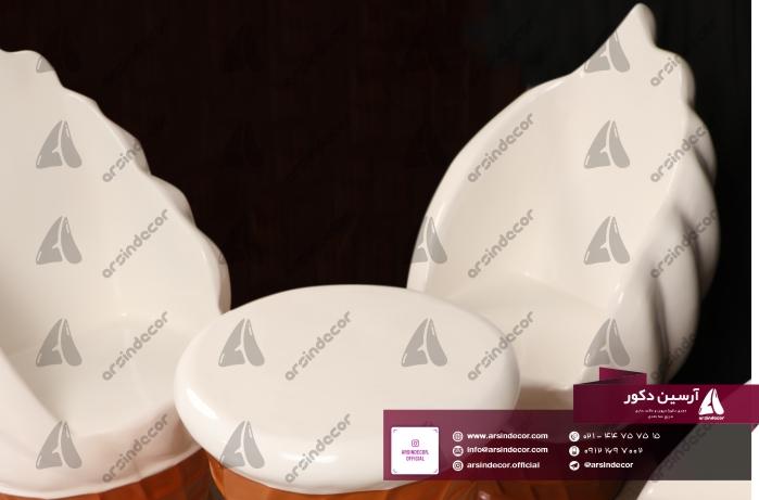 صندلی طرح بستنی قیفی فایبر
