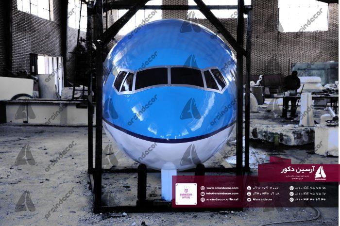 ماکت تبلیغاتی هواپیما بوئینگ