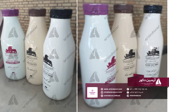 ماکت شیشه شیر