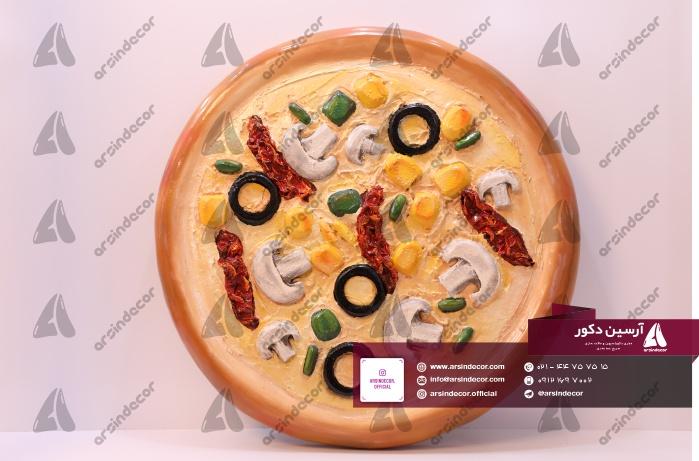 ماکت تبلیغاتی پیتزا