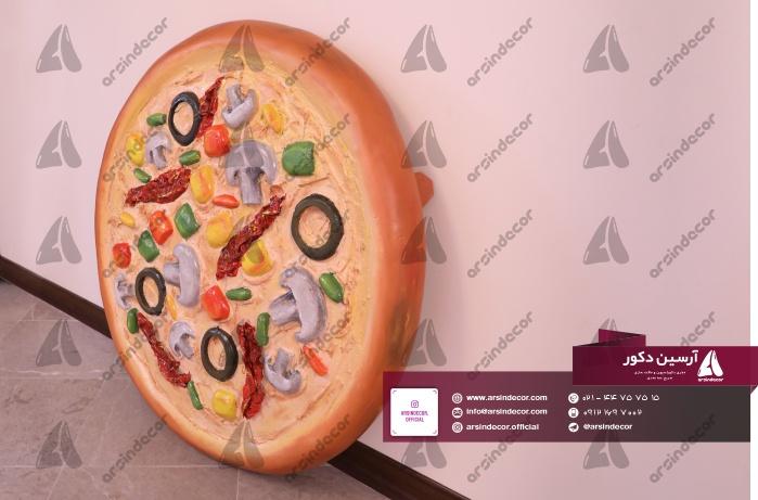 ماکت تبلیغاتی دیواری پیتزا