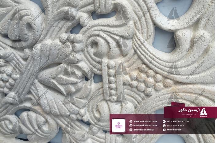 طرح باستانی روی ستون