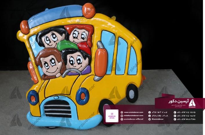 ماکت تبلیغاتی اتوبوس