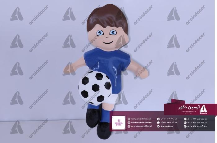 ماکت بازیکن فوتبال