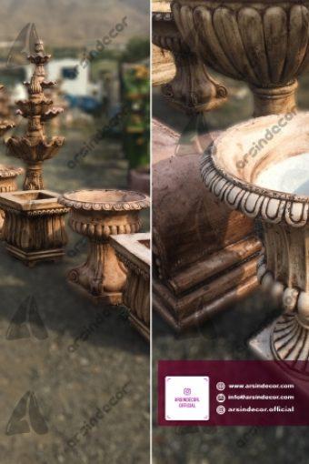 ماکت گلدان آرایه باستانی